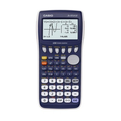 Casio Graphing Calculator - Blue