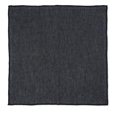 Linen Napkin Black (4pk)- Smith & Hawken™