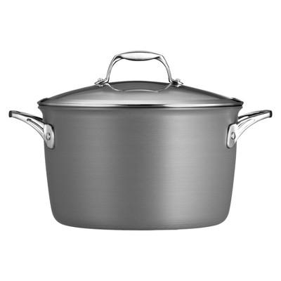 Tramontina 8 Quart Hard Anodized Stock Pot - Gray