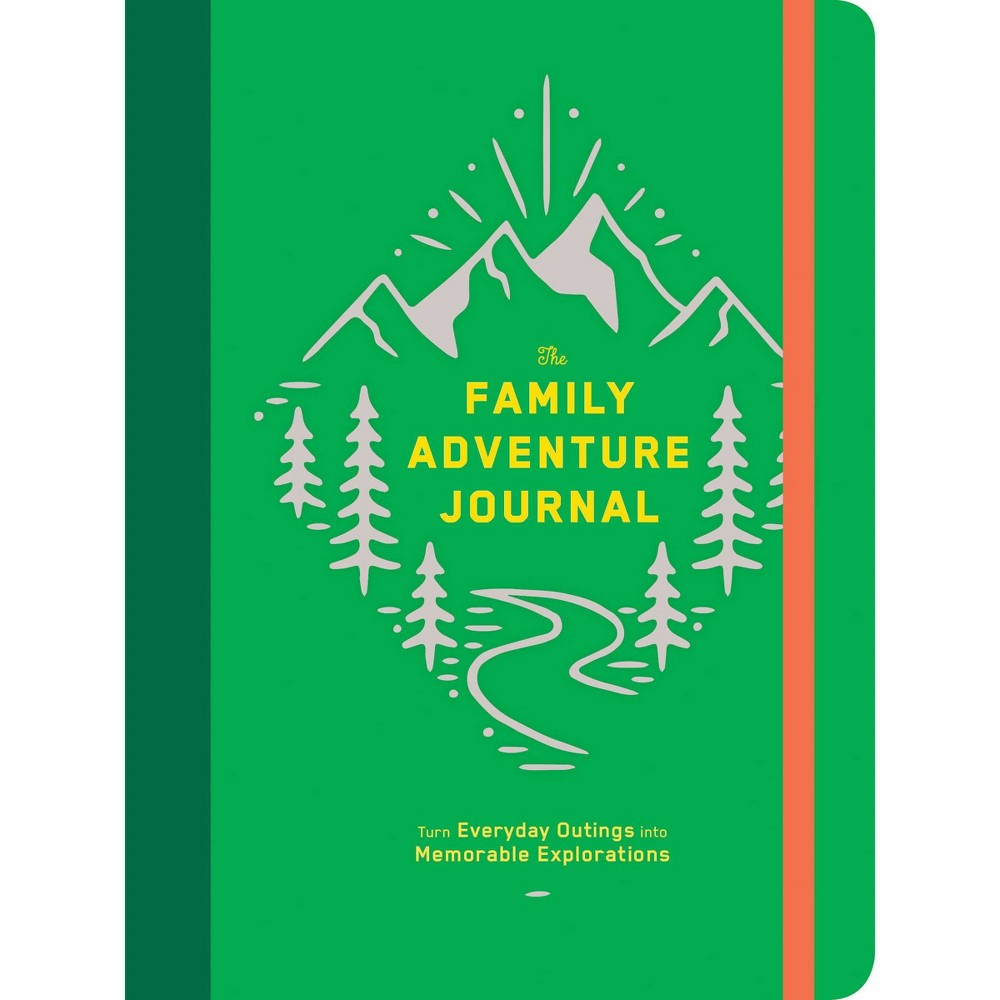 Image of Lined Journal Family Adventure Green - Chronicle Books