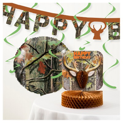 Hunting Camo Party Decorations Kit