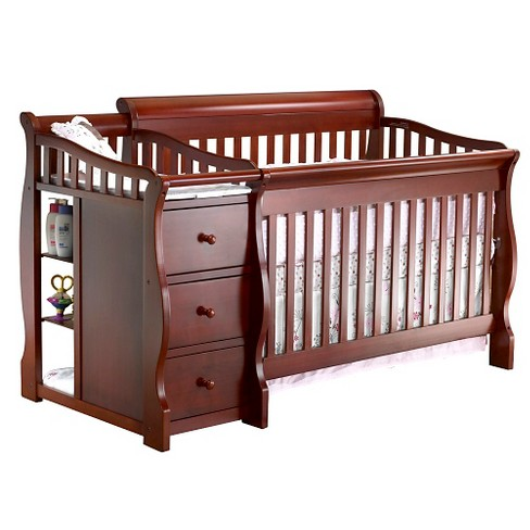 Sorelle Tuscany 4-in-1 Convertible Crib and Changing Table - image 1 of 2