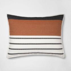 Stripe Woven Yarn Dye Pillow Sham Cream - Project 62™ + Nate Berkus™