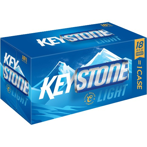 Keystone® Light Beer - 18pk / 16oz Cans - image 1 of 1