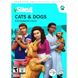 The Sims 4 Cats and Dogs Expansion Pack - PC Game