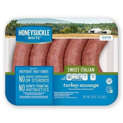 Honeysuckle White Fresh Sweet Italian Turkey Sausage - 20oz/5pk