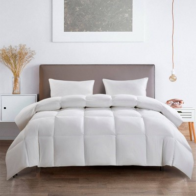 All Season Feather & Down Fiber Comforter - Serta