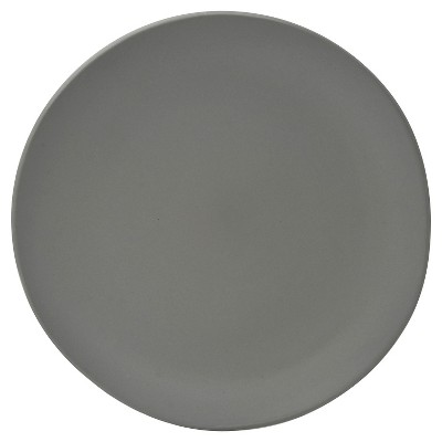 10 Strawberry Street Matte Wave Stoneware Bread & Butter Plates 6.2  Gray - Set of 6