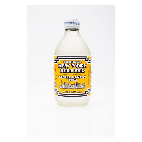 Original New York Seltzer Vanilla Cream - 10 fl oz Glass Bottle - image 1 of 1