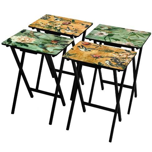 folding table set oriental furniture target. Black Bedroom Furniture Sets. Home Design Ideas