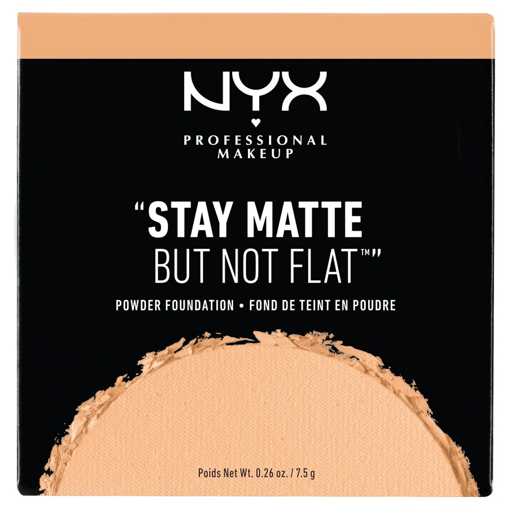 Nyx Professional Makeup Stay Matte But Not Flat Pressed Powder Foundation Soft Beige 0 26oz