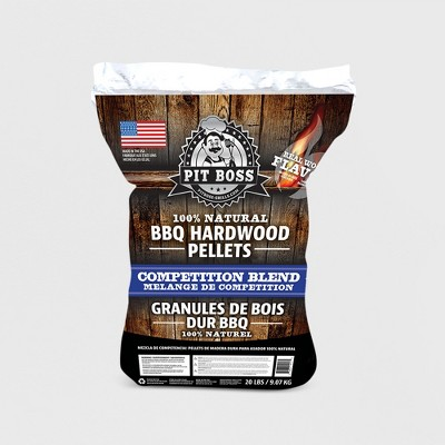 Pit Boss Competition BBQ Hardwood Pellets - 20lb