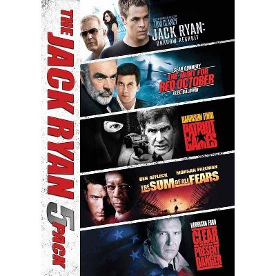 Jack Ryan Collection 5 Movies (DVD)(2016)
