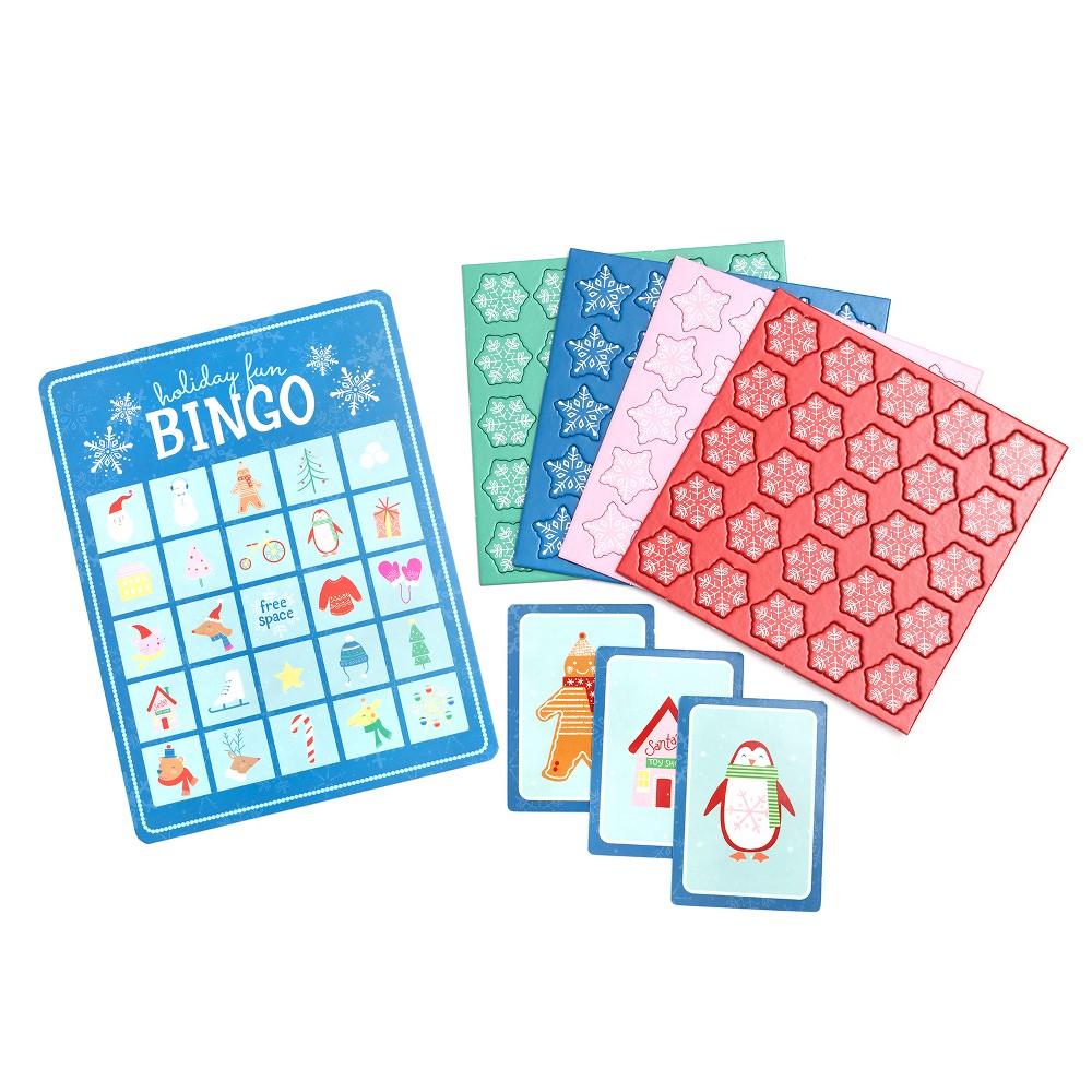 Holiday Bingo Cards Set - Wondershop