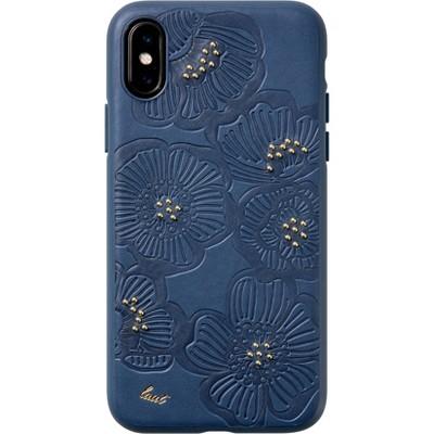 LAUT Apple iPhone XS Max Flora Case - Blue
