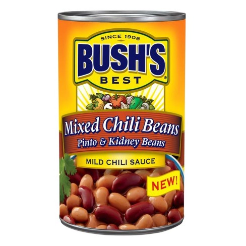 Bush's Mixed Chili Beans Pinto & Kidney Beans - 15.5oz - image 1 of 1
