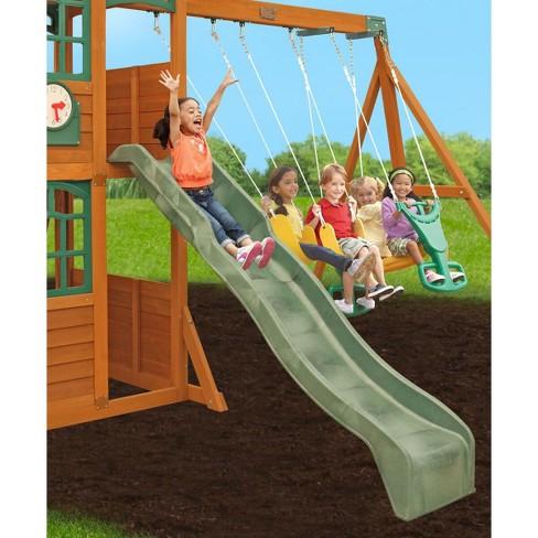 Kidkraft Brooksville Wooden Swing Set Target