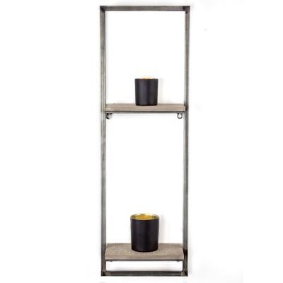 32  x 10.5  Decorative Wall Shelf Gray - E2 Concepts