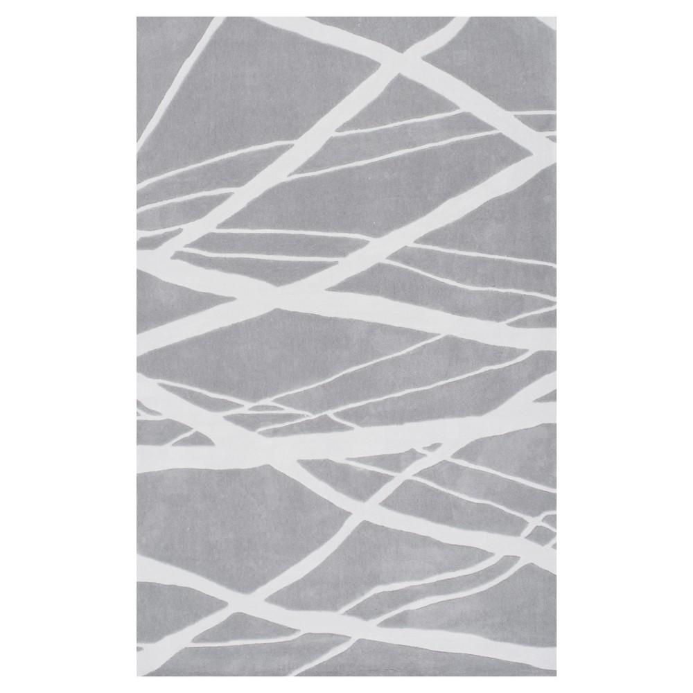 nuLOOM Hand Tufted Warren Area Rug - Gray (8' 3 x 11')