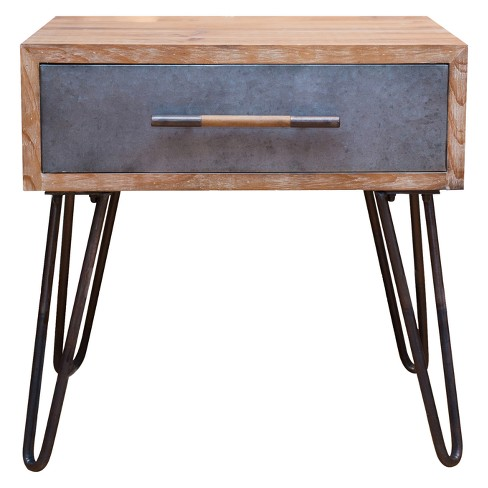 Vaughn Hairpin Table Brown - Firstime - image 1 of 6