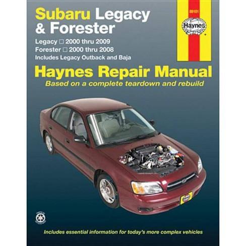 Subaru Legacy & Forester - (Haynes Repair Manual) (Paperback) - image 1 of 1