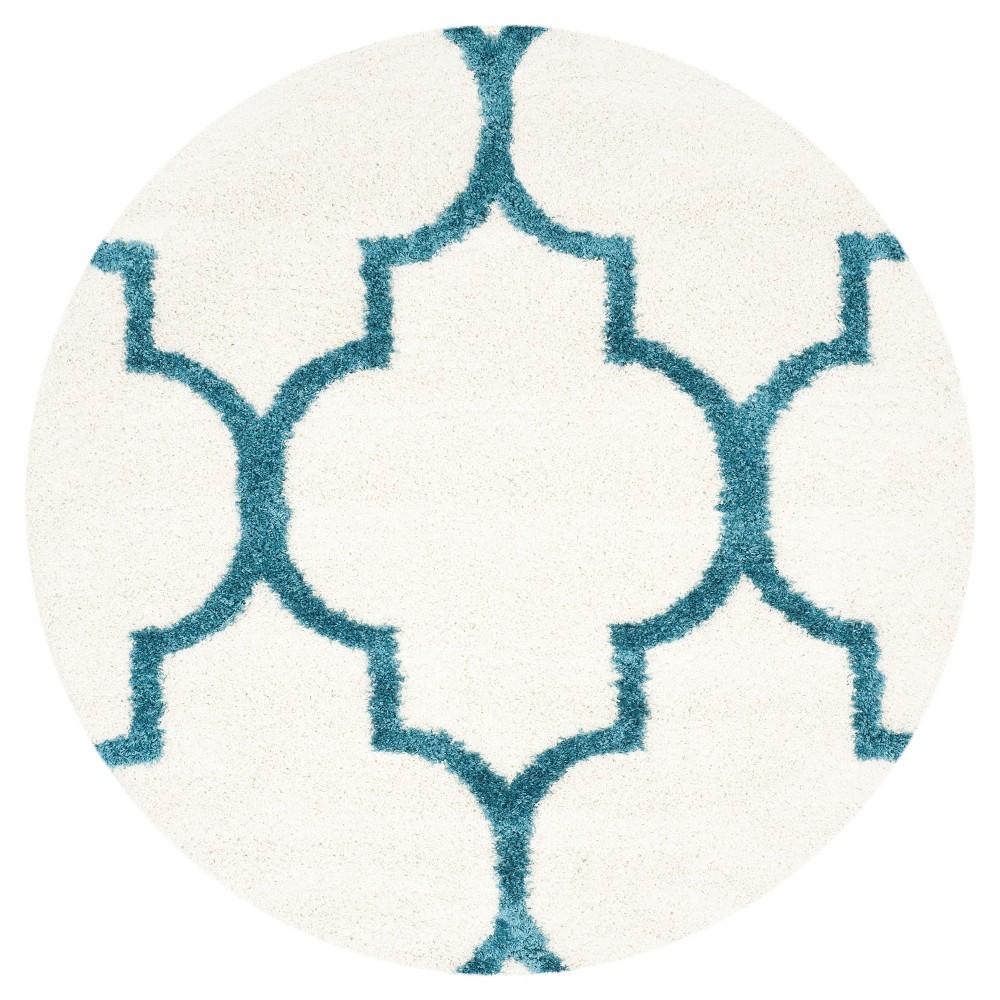 Jaxon Area Rug - Ivory/Blue (6'7