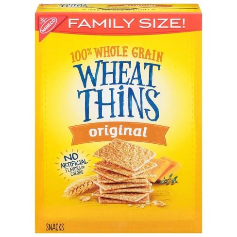 Wheat Thins Original Crackers - Family Size - 16oz - image 1 of 4