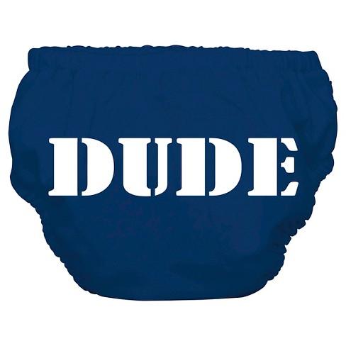Charlie Banana Reusable Swim Diaper Blue, Dude (Assorted Sizes) - image 1 of 3