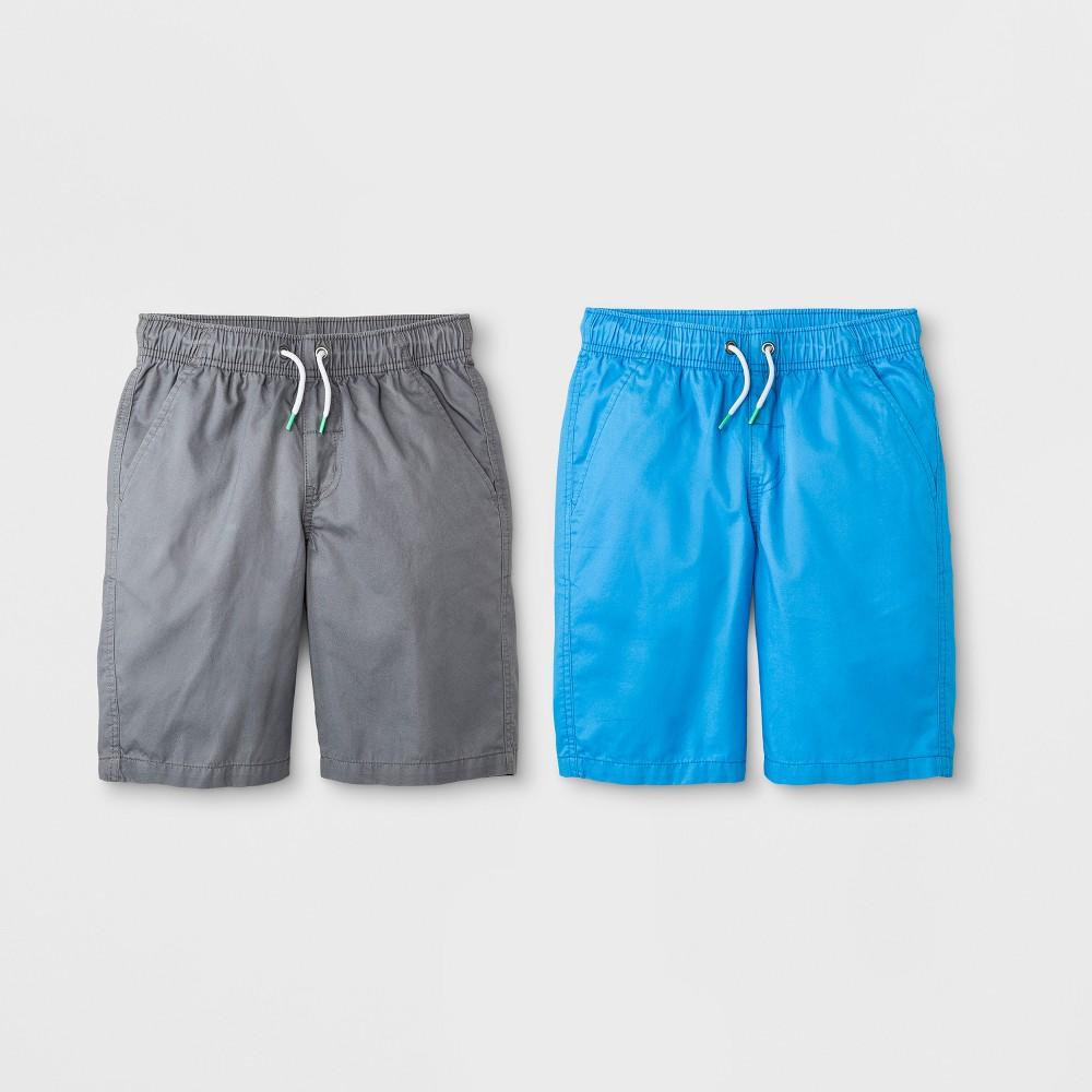 Boys' 2pk Pull-On Shorts - Cat & Jack Blue Xxl
