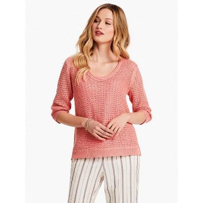 NIC+ZOE Women's Tangelo Sweater