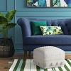 Lory Pouf Textured - Opalhouse™ - image 4 of 4