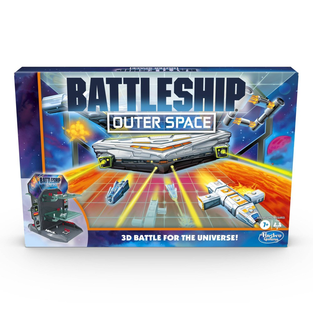 Battleship Outer Space Game