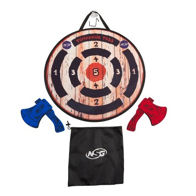NSG Foam Axe Throwing Game Set