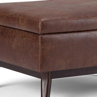 Miraculous Ethan Square Coffee Table Storage Ottoman Wyndenhall Inzonedesignstudio Interior Chair Design Inzonedesignstudiocom