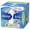 Always Infinity FlexFoam Pads without Wings - Super Absorbency - Unscented - Size 2 - 16ct - image 3 of 4