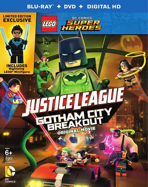 LEGO DC Comics Super Heroes: Justice League: Gotham City Breakout (Blu-ray) - image 1 of 1