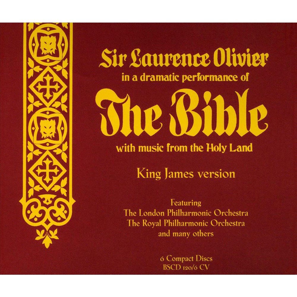 Sir Laurenc Olivier - Te Bible A Dramatiic Performance (CD)