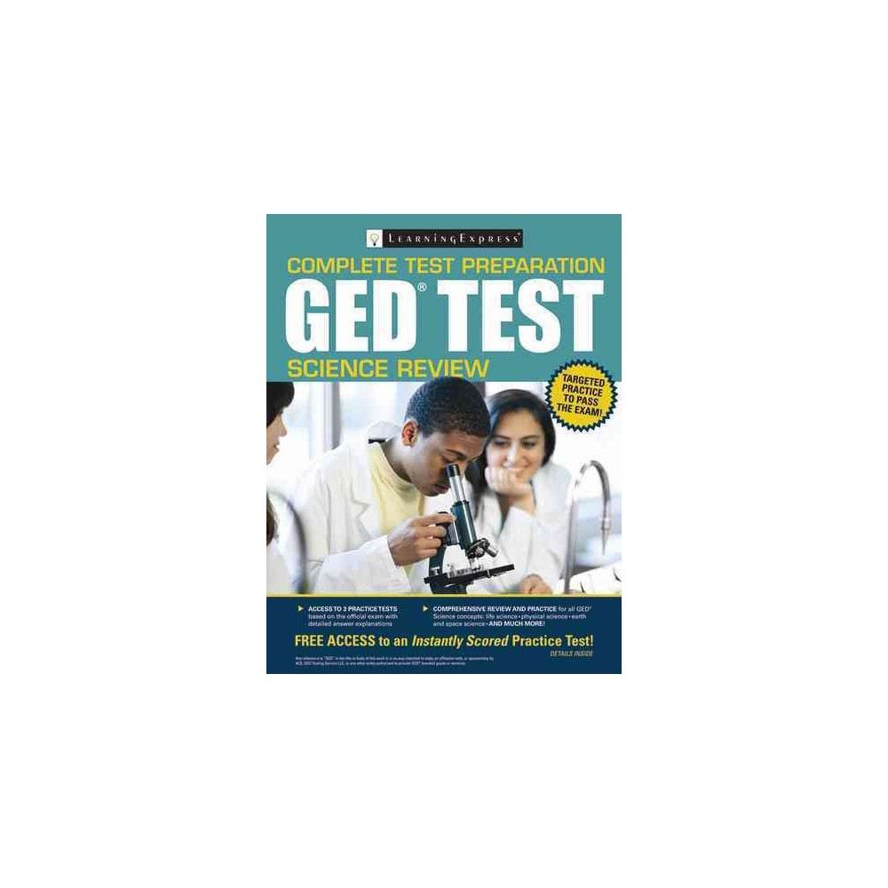 Ged Test Science Review (Paperback)