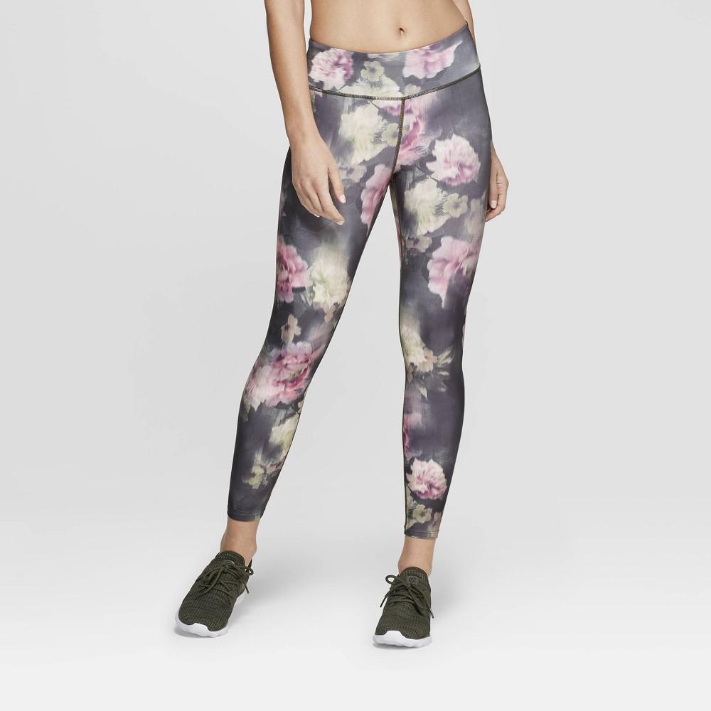 Women's Performance Mid-Rise 7/8 Length Printed Leggings - JoyLab Rose S, Pink