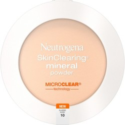 Neutrogena Skin Clearing Pressed Powder - 10 Classic Ivory