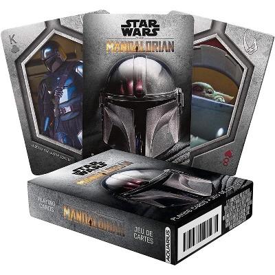 NMR Distribution Star Wars The Mandalorian Photo Playing Cards | 52 Card Deck + 2 Jokers