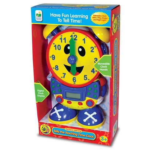 The Learning Journey Telly The Teaching Time Clock, Primary Colors - image 1 of 2