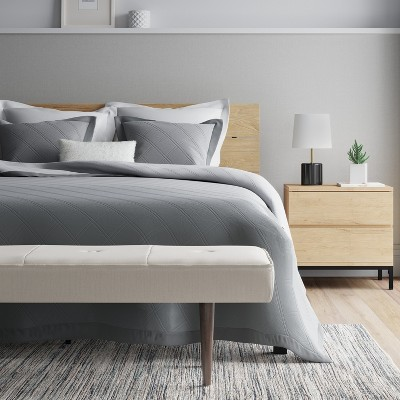 Delicieux Queen Loring Bed   Vintage Oak   Project 62™ : Target