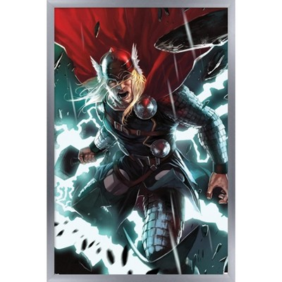 Trends International Marvel Comics - Thor - Comic Framed Wall Poster Prints