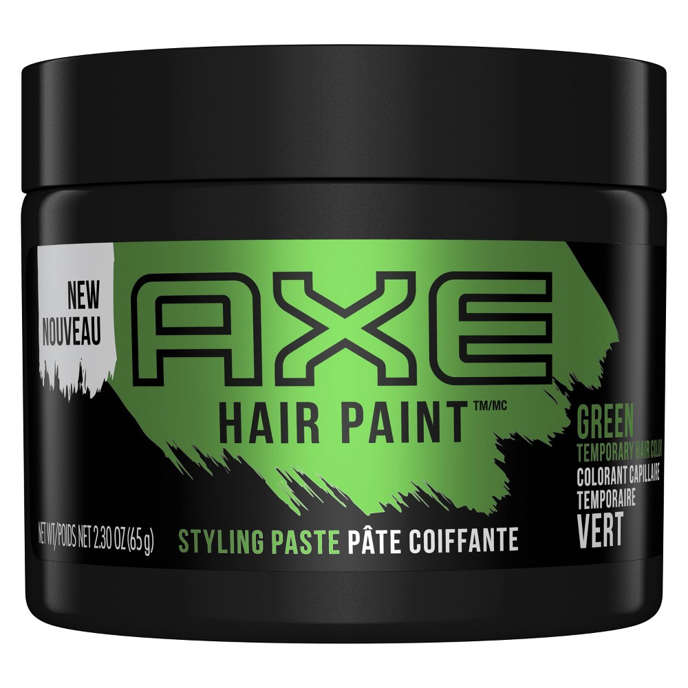 Image of AXE Hair Paint Temporary Green Color Styling Paste - 2.3oz