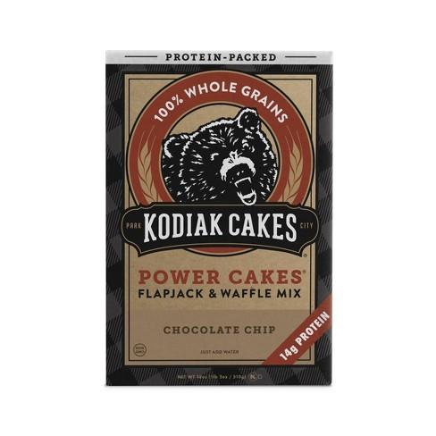 Kodiak Cakes Power Cakes Chocolate Chip Flapjack & Waffle Mix- 18oz - image 1 of 4