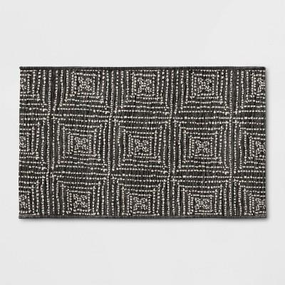 Diamond Pixel Outdoor Rug Black - Project 62™