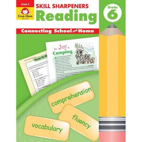 Skill Sharpeners Reading Grade 6+ - (Skill Sharpeners: Reading) by  Evan-Moor Educational Publishers - image 1 of 1