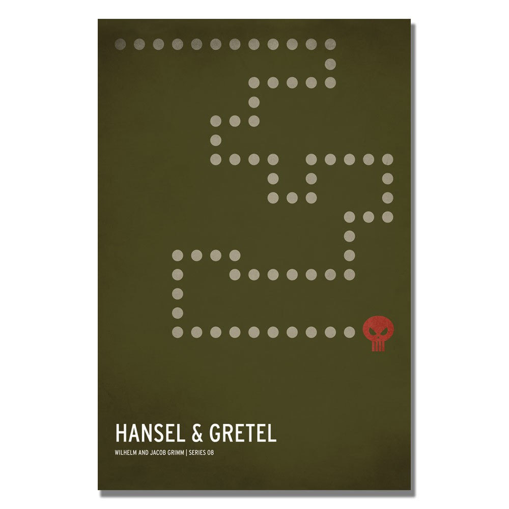 'Hansel & Gretel' by Christian Jackson Ready to Hang Canvas Wall Art