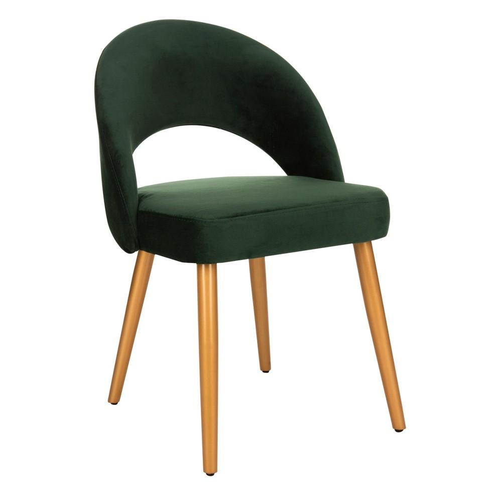 Set of 2 Giani Retro Dining Chair Malachite Green - Safavieh